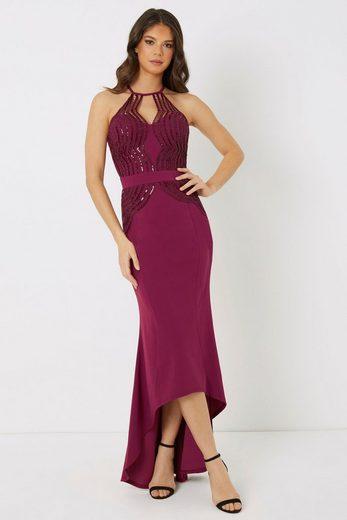 LIPSY Abendkleid mit Spitze und Pailletten