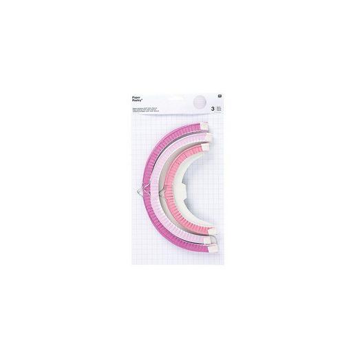 Rico Design Laterne »Papierlampions Sommer, 3 Stück«