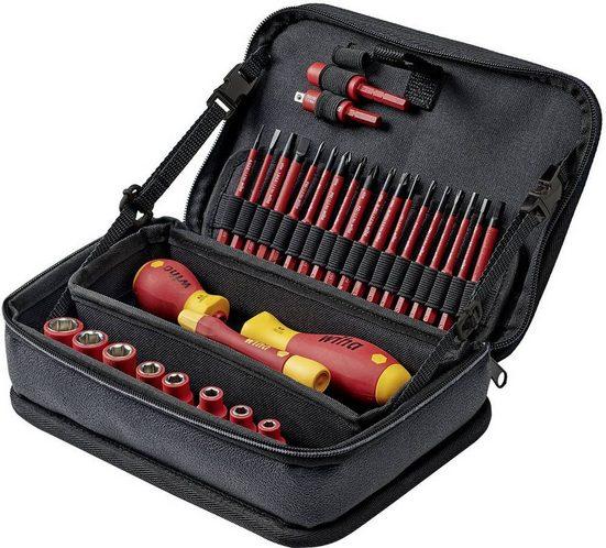 Wiha Fahrradwerkzeugset »Wiha Werkzeug Set slimVario® electric gemischt 31-tlg. in Funktionstasche (43465)«