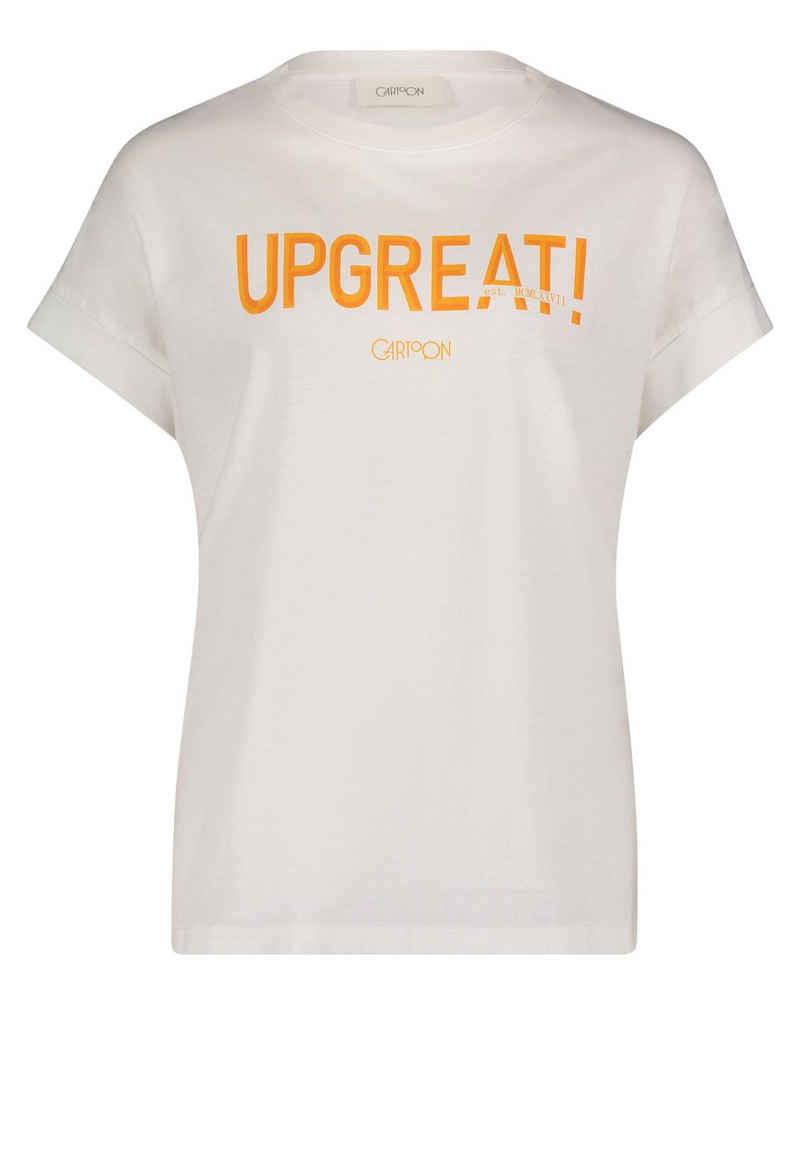 Cartoon T-Shirt »mit Aufdruck« Placement