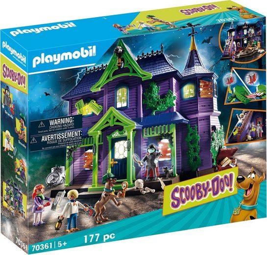 Playmobil® Konstruktions-Spielset »SCOOBY-DOO! Abenteuer im Geisterhaus (70361), SCOOBY-DOO!«