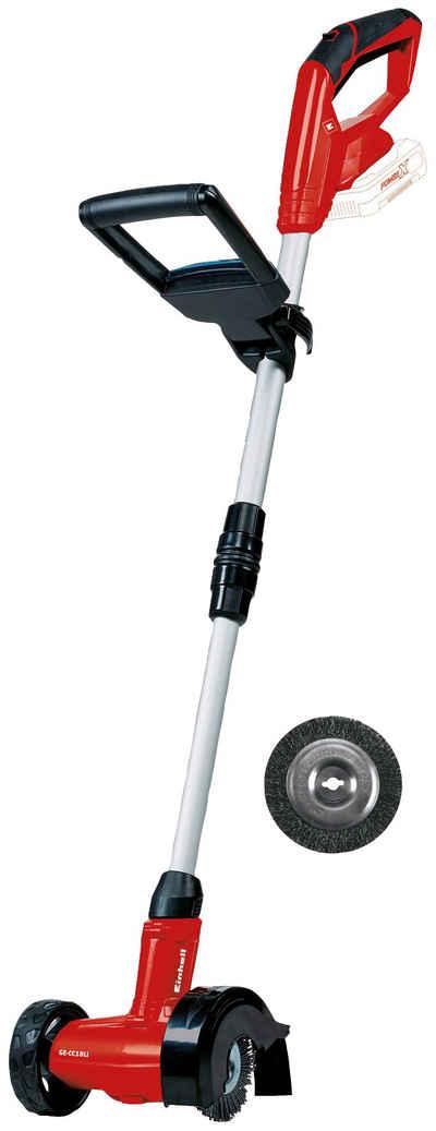 Einhell Akku-Fugenbürste »GE-CC 18 Li Solo«, 10 cm Bürstendurchmesser, inkl. Stahl- und Nylonbürste, ohne Akku und Ladegerät