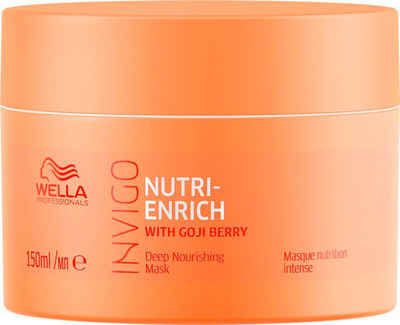 Wella Professionals Haarkur »Invigo Nutri-Enrich Deep Nourishing Mask«, nährend