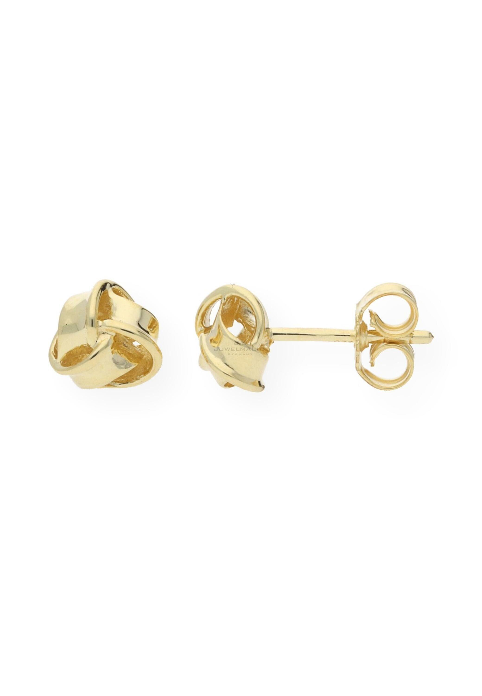 JuwelmaLux Paar Ohrstecker »Ohrringe Knoten 925000 vergoldet« online kaufen   OTTO