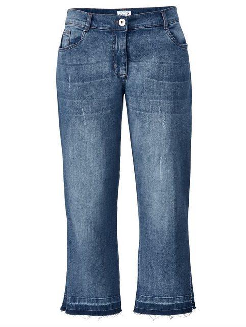 Hosen - Angel of Style by HAPPYsize 5 Pocket Jeans mit seitlichem Schlitz ›  - Onlineshop OTTO