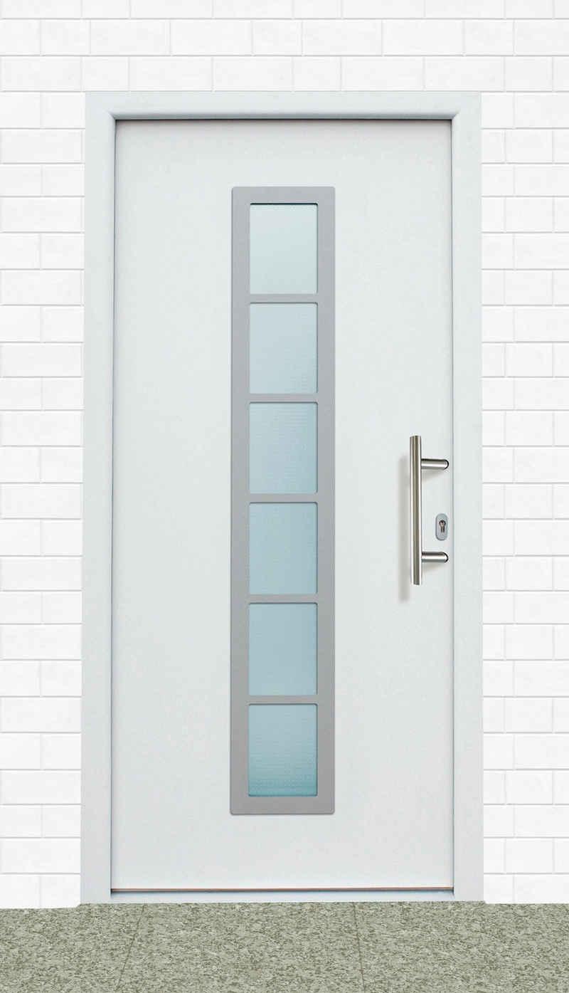 KM Zaun Haustür »A04«, BxH: 98x208 cm, weiß, in 2 Varianten