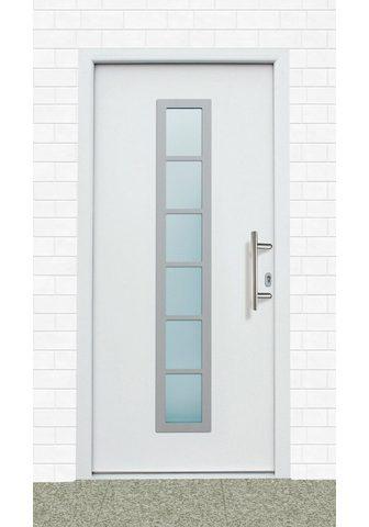 KM Zaun Haustür »A04« BxH: 98x208 cm weiß in 2...