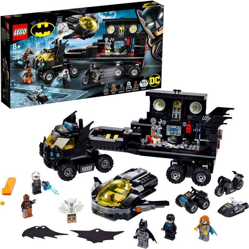 LEGO® Konstruktionsspielsteine »Mobile Batbasis (76160), LEGO® DC Comics Super Heroes«, (743 St), Made in Europe