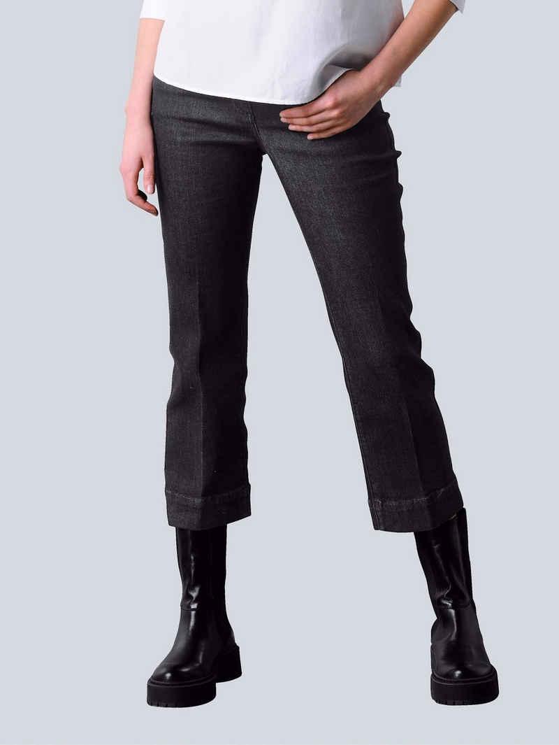 Alba Moda Weite Jeans im 5-Pocket Style