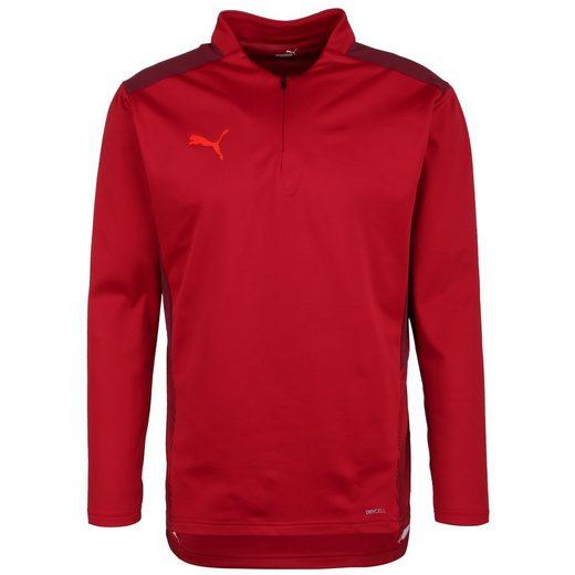 PUMA Sweatshirt »Teamcup 1/4 Zip«