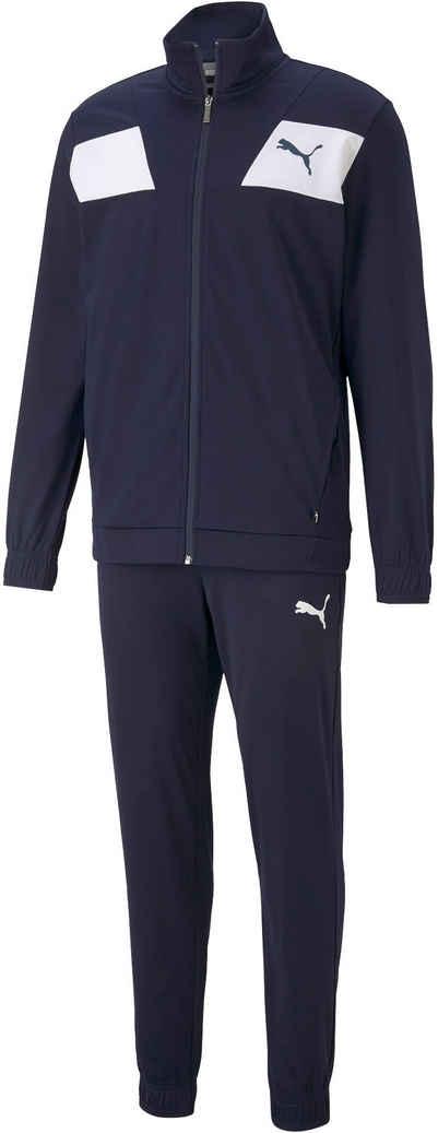 PUMA Trainingsanzug »Techstripe Tricot Suit cl« (Set, 2-tlg)