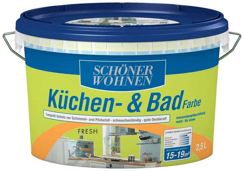 SCHÖNER WOHNEN-Kollektion Feuchtraumfarbe »Küche/Badfarbe, fresh«, 2,5 l