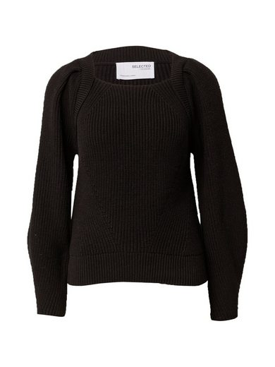 SELECTED FEMME Strickpullover »SLFGRY«