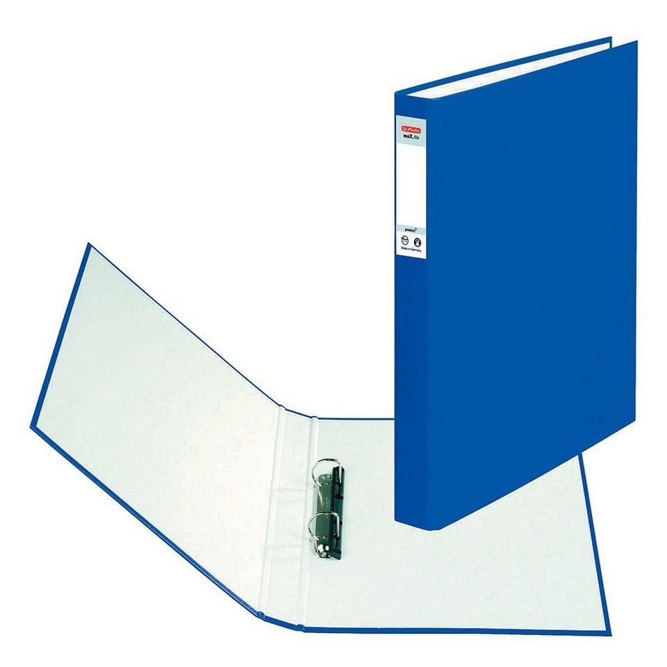 Herlitz Ringbuch »maX.file« in blau