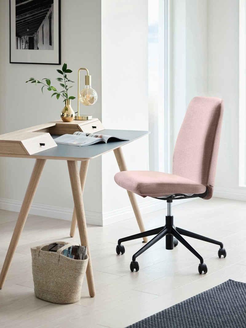 Stressless® Schreibtischstuhl »Laurel«, Low Back, Größe L, mit Home Office Gestell in Schwarz matt