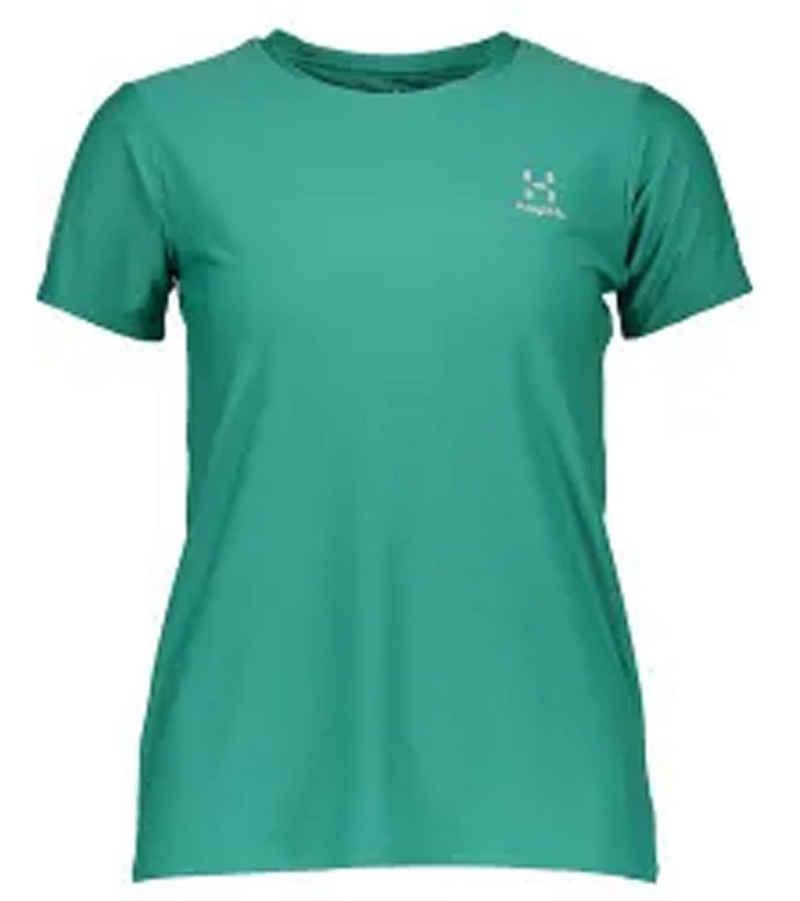 Haglöfs Funktionsshirt »Haglöfs Lim Tech Sport-Shirt schweißableitendes Damen Funktions T-Shirt Outdoor-Shirt Grün«