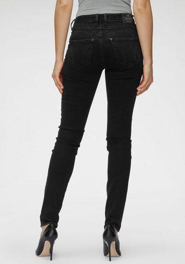Herrlicher Slim-fit-Jeans »QUENDOLIN« mit leichtem Push Up Effekt