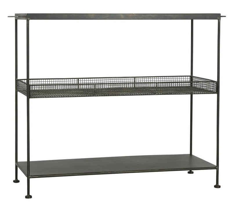 Ib Laursen Beistelltisch »Standregal Konsolentisch Sideboard Beistelltisch Regal Metall Laursen 31021 25«