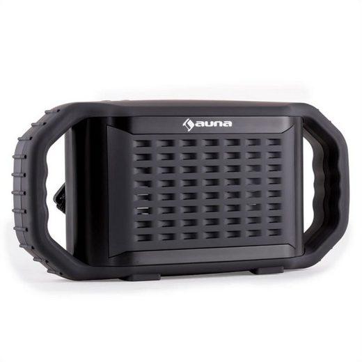 Auna Poolboy Bluetooth-Lautsprecher Schwarz USB AUX Wasserdicht Stoßfest Bluetooth-Speaker