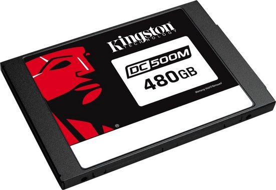 """Kingston »Data Center DC500M Enterprise« SSD 2,5"""" (480 GB) 555 MB/S Lesegeschwindigkeit, 520 MB/S Schreibgeschwindigkeit)"""