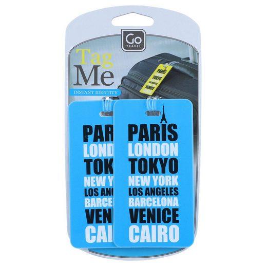 Go Travel Taschenanhänger »Gepäckzubehör« PVC