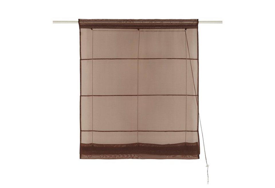 Faltrollo my home xanten mit stangendurchzug 1 st ck for Fenster xanten