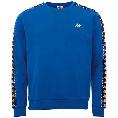 Kappa Sweatshirt »ILDAN« mit hochwertigem Jacquard Logoband an den Ärmeln