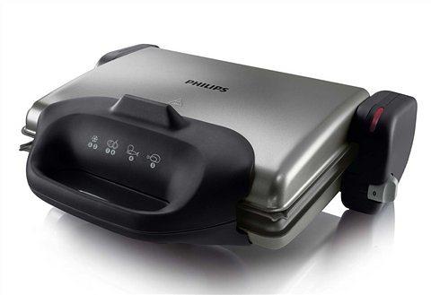 Philips Kontaktgrill / Gesundheitsgrill »HD4467/90«, 2000 Watt