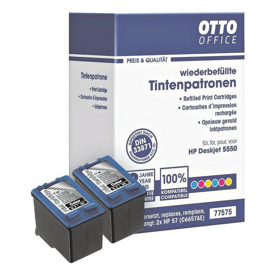 OTTO Office Standard Doppelpack Tintenpatronen ersetzt HP »C6657AE« Nr. 57