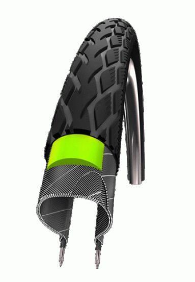 """Schwalbe Fahrradreifen »Marathon Performance 24"""" GreenGuard Draht Reflex«"""