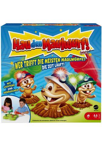 Mattel games Spiel »Hau den Maulwurf!« su Licht- ir...
