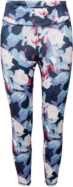 Hosen - esprit sports Leggings mit modischem Allover Print ›  - Onlineshop OTTO