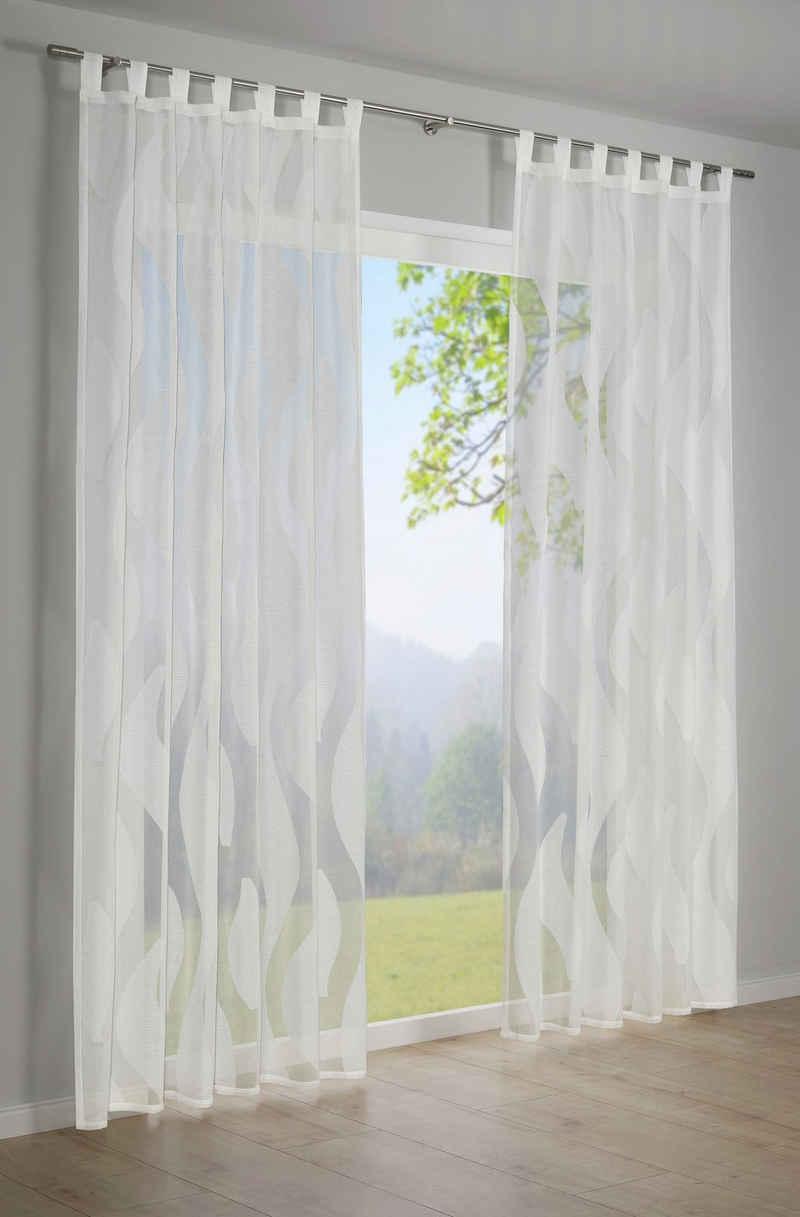 Vorhang »Scherli«, GARDINIA, Schlaufen (1 Stück), HxB: 245x140