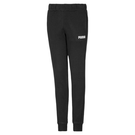PUMA Jogginghose »Essentials Mädchen Fleece Sweatpants mit Bündchen«