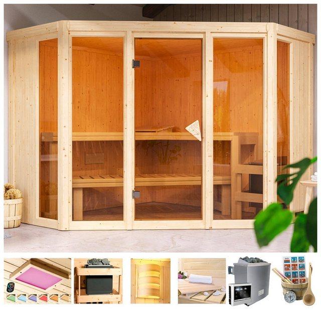 Saunen und Zubehör - Karibu Sauna »Cassidy«, 68 mm, in versch. Ausführungen  - Onlineshop OTTO