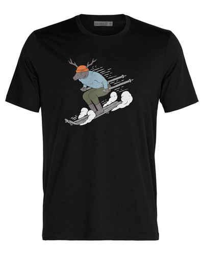 Icebreaker T-Shirt »Herren Outdoor-Shirt MERINO TECH LITE II SKI RIDER«