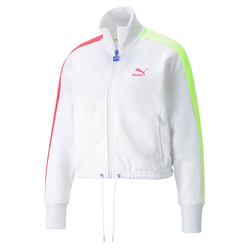 PUMA Kapuzensweatjacke »Iconic T7 Cropped PT Damen Jacke«