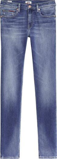 Tommy Jeans Slim-fit-Jeans »IMOGEN MR SLIM EVMBCF« mit Fadeout-Effekten & Tommy Jeans Logo-Badge