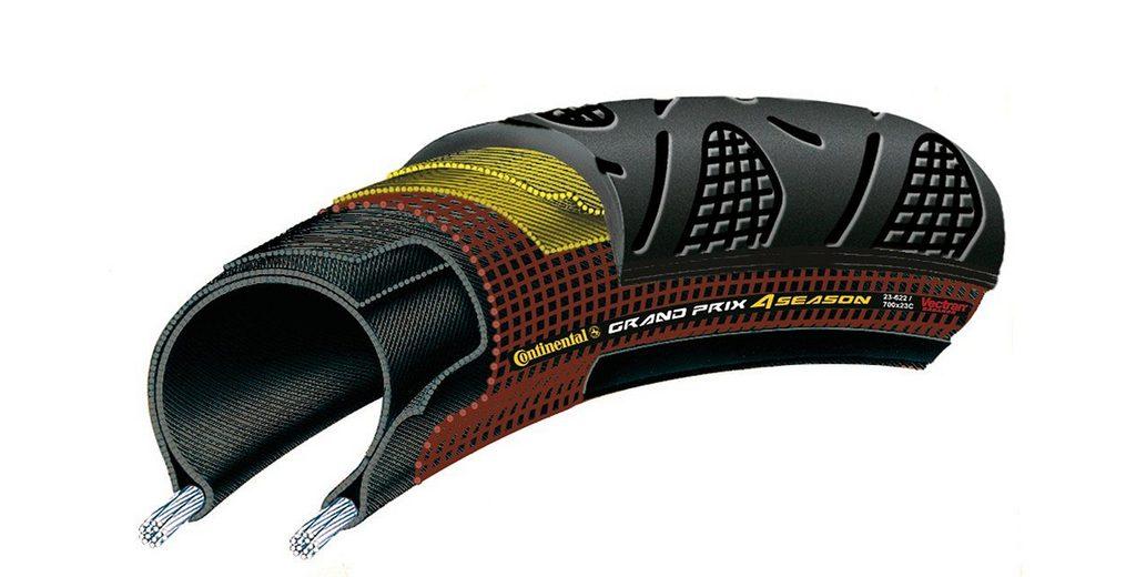 Continental Fahrradreifen »Grand Prix 4-Season 25-622 faltbar«