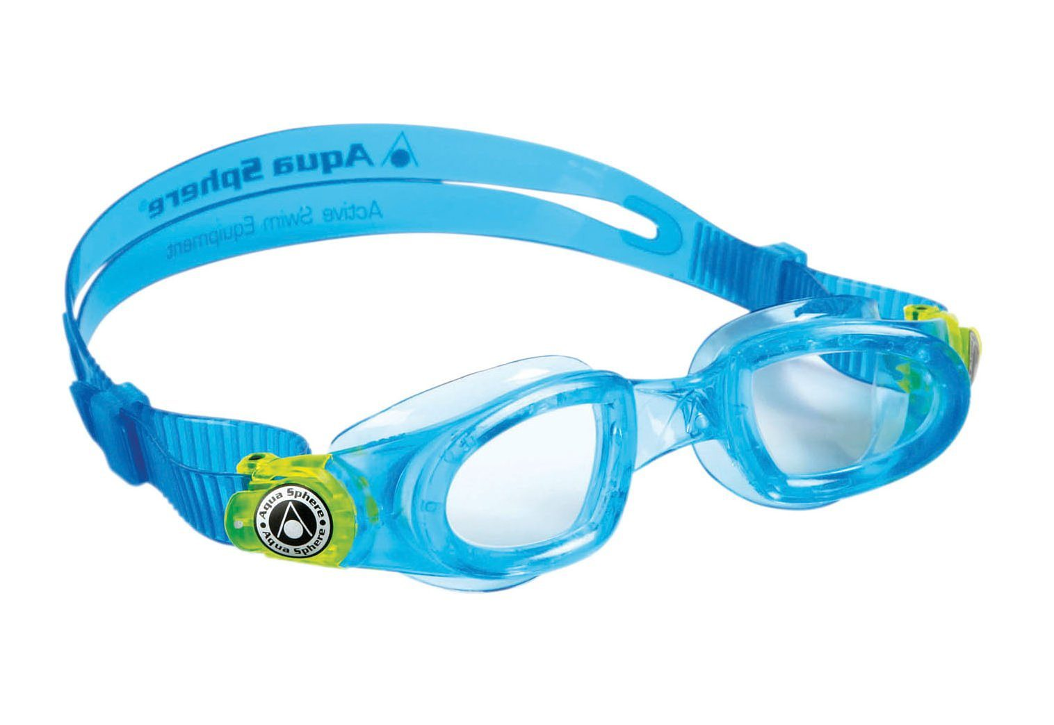 Aqua Sphere, Schwimmbrille, helles Glas, »Moby Kid«
