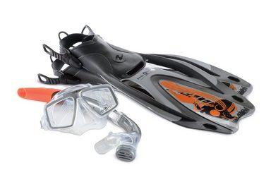 Aqua Lung Sport Flosse »SET PROFLEX PRO ADJ« (Set, Tauchmaske + Schnorchel)