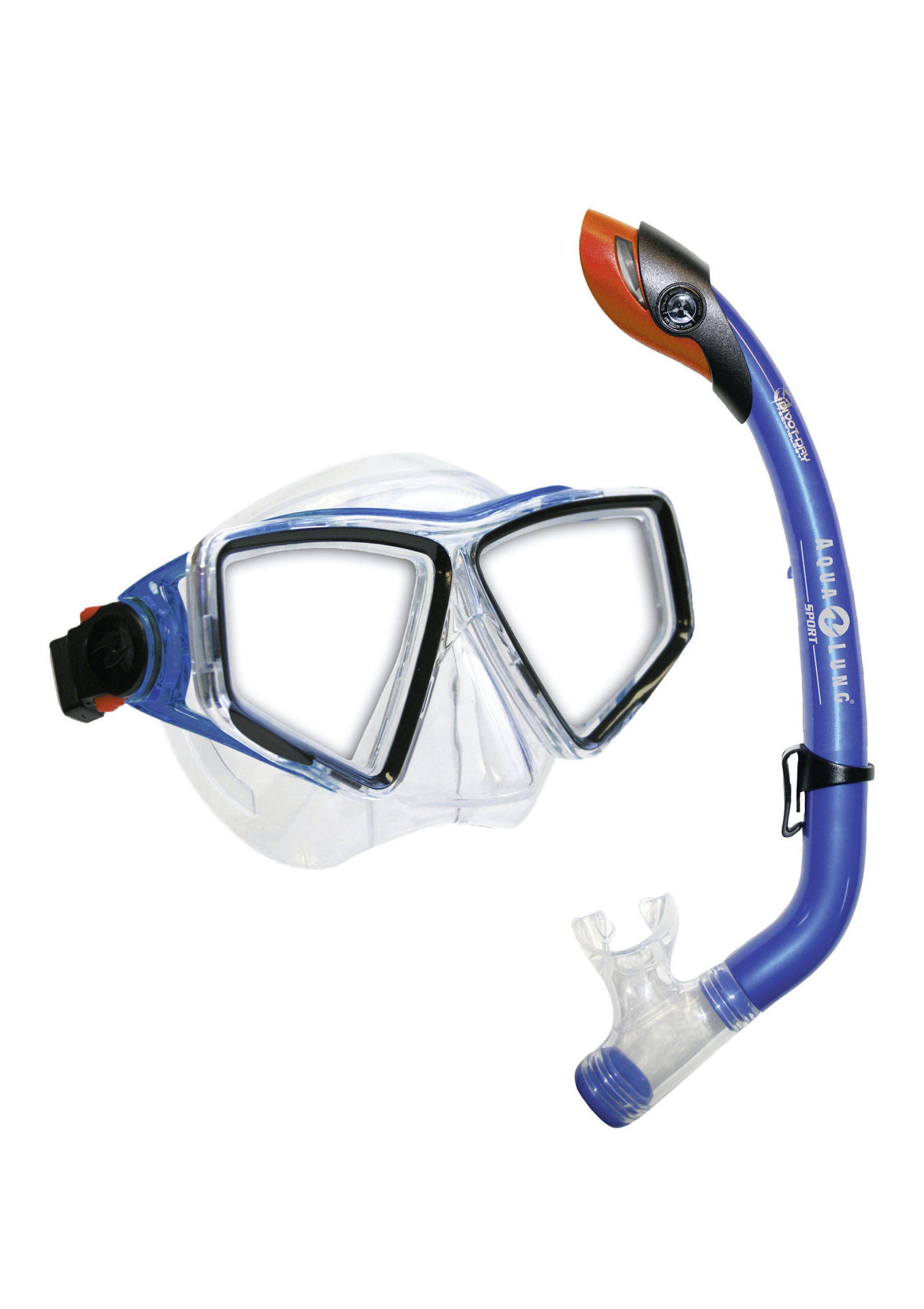2er SET Tauchmaske & Schnorchel, Aqua Lung Sport, »LANAI LX/ PARADISE PRO JR.«