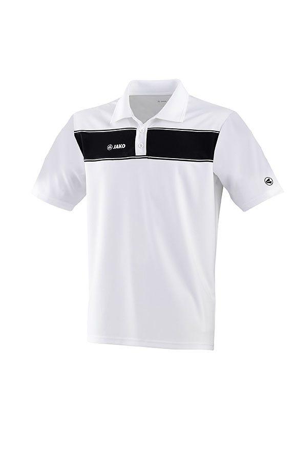 JAKO Polo Player Damen in weiß/schwarz