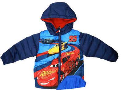 Disney Cars Winterjacke »Lightning MCQueen Kinder Jacke« Gr. 98 bis 128, in Hellblau oder Dunkelblau