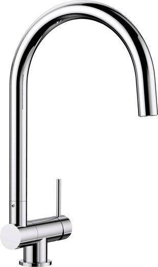 BLANCO Küchenarmatur »CORESSA-F Hebel rechts«, Hochdruck, klappbare Vorfensterarmatur