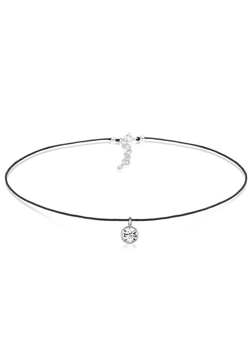 Elli Collier »Basic Choker Kristalle 925 Silber«