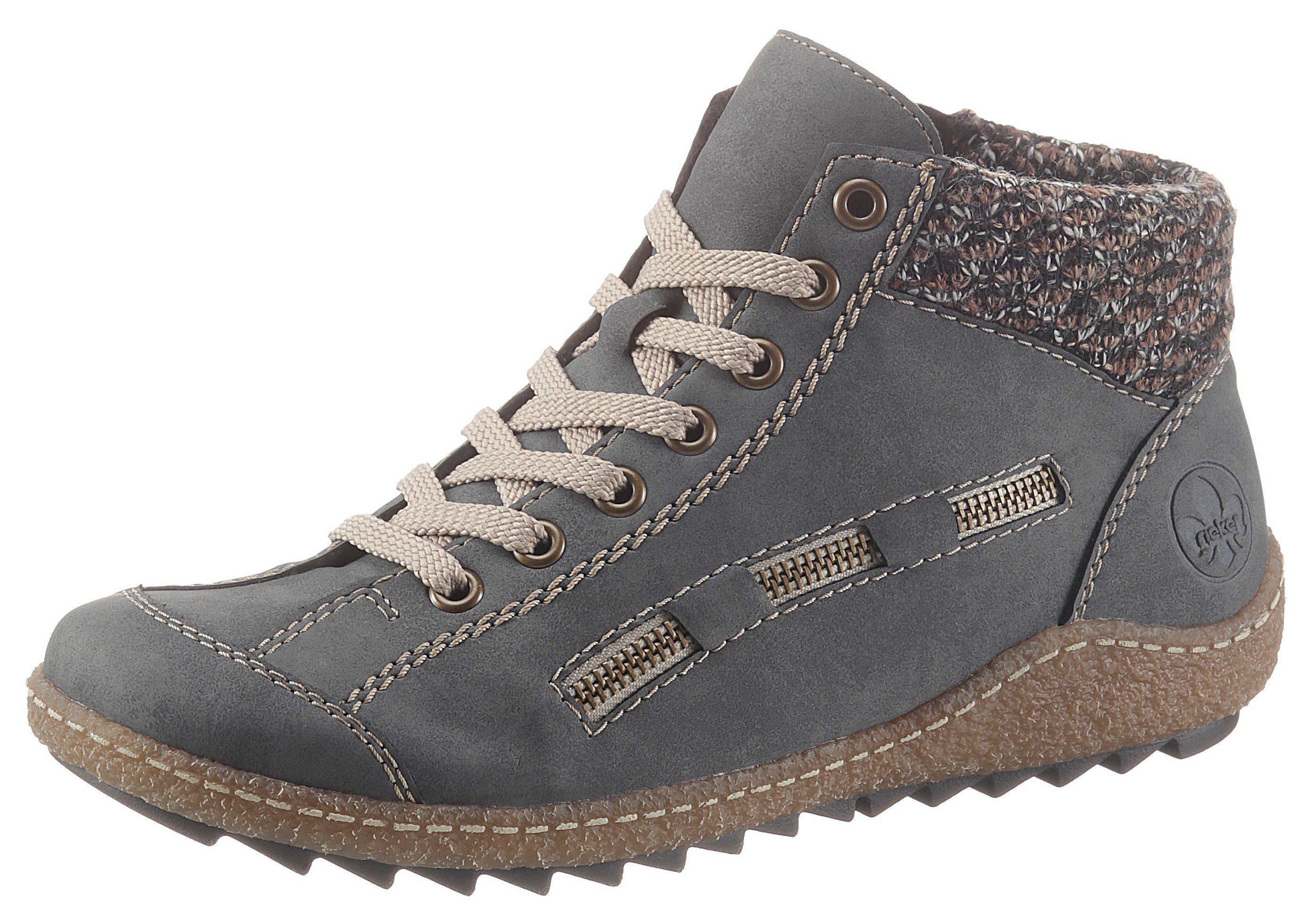 sneaker patchwork leo rieker high