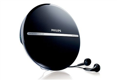 Philips EXP2546 Tragbarer CD Player