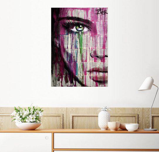 Posterlounge Wandbild, Augen wie ein Smaragd