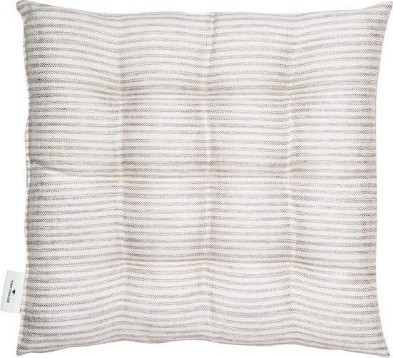 TOM TAILOR Stuhlkissen »Fresh Stripe«, mit modernem Nadelstreifendessin
